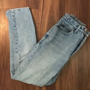 90s Style Light-Wash Guess Jeans